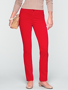 Signature Velveteen Ankle Pants