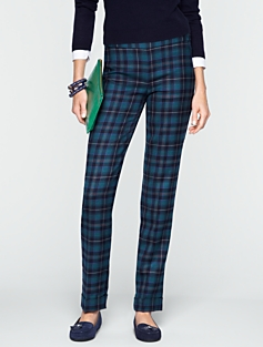 Heritage Festive Plaid Pants