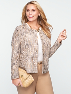 Sparkle Tweed Jacket
