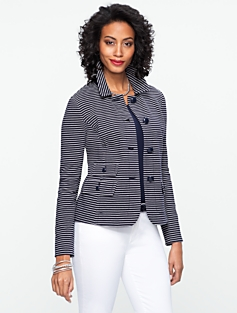 Striped Corded Jacket