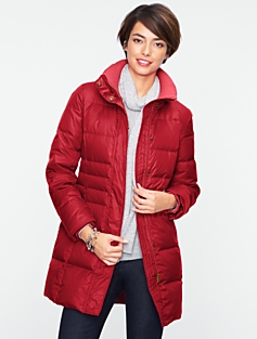 Three-Quarter-Length Puffer Coat