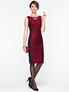 Kingston Jacquard Dress
