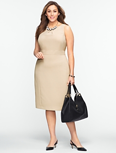 Seasonless Crepe Dress