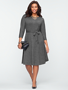 Flared Dolman Dress