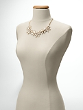 Pav� Flower Necklace