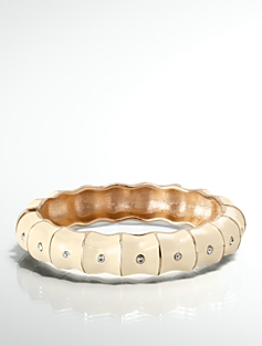 Crystal Bamboo Bangle