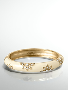 Pav� Flower Bangle