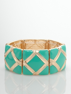 Diamond-Link Bangle