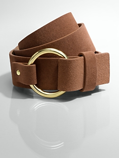 Suede O-Ring Belt