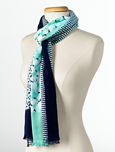 Geo-Abstract Scarf