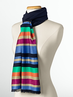 Lounge-Stripe Scarf