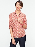 Botanical Paisley Shirt