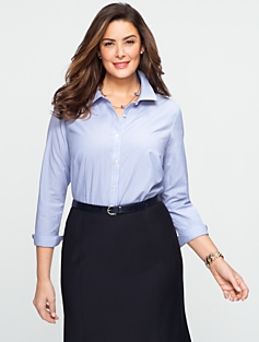 Wrinkle-Resistant  Windsor Stripes Shirt