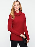 Talbots Comfy Cotton Cowl-Neck Sweater