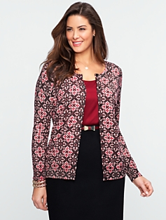 Sparkle Medallion Cardigan
