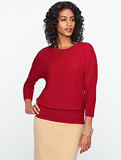 Talbots Merino Chevron-Stitch Sweater