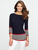 Box-Stripe Border Top