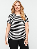 Refined Stripe Tee