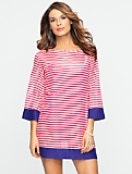 Tipped Stripe Tunic