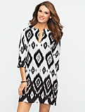 Ikat Beaded Tunic