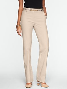Heritage Double-Weave Straight-Leg Pants