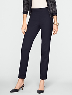 Heritage Tropical Wool Cuffed Ankle Pants