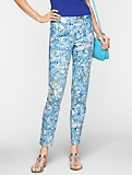 Signature Cherry Blossom Ankle Pants
