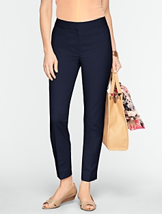 Heritage Double-Weave Ankle Pants