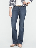 Slimming Signature Medium Ocean Wash Bootcut Jeans