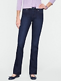 Slimming Signature Dark Ocean Wash Straight-Leg Jeans