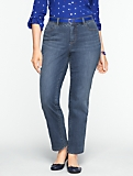 Slimming Heritage Medium Ocean Wash Ankle Jeans