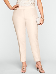 Heritage Faille Ankle Pants