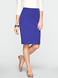 Curvy Cotton Bi-Stretch Pencil Skirt