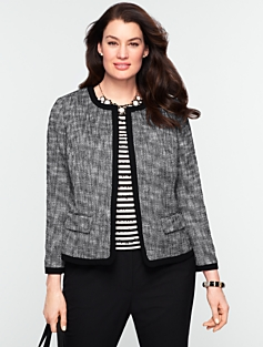 Basket Tweed Jacket