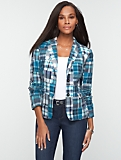 Madras Plaid Jacket