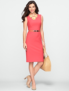 Polished Sleeveless Dress