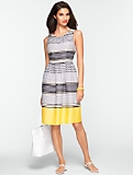 Ombr�-Stripe Dress