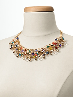 Cluster-Bead Necklace