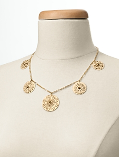Short Filigree Necklace