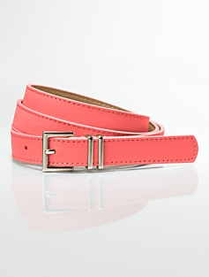 Leather Double-Keeper Belt