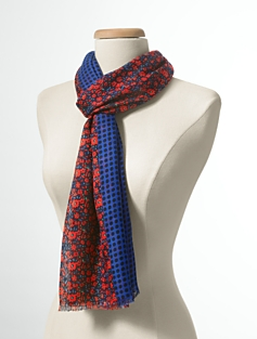 Flower & Dot Scarf