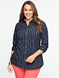 Anchor-Print Cotton Shirt