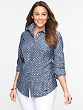 Polka Dot Cotton Shirt