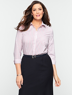 Wrinkle-Resistant Madison Stripe Shirt