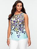 Cascading Flower Top