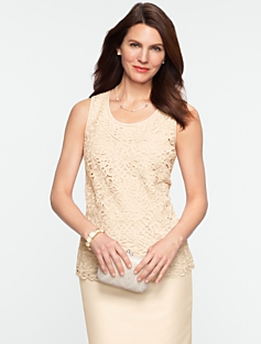 Lattice-Lace Top