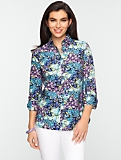 Whimsical Floral Shirt