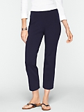 Stretch Weekend Terry Crop Pants