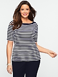 Club Stripe Stretch Weekend Bateau