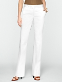 Signature Polished Sateen Bootcut Trousers